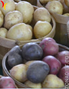 patatas distinto color
